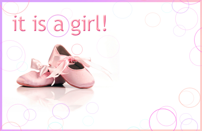 Its a girl - Shoes