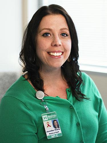 Jenni Pierle, MSN, FNP-C, Prevention and Survivorship Specialist