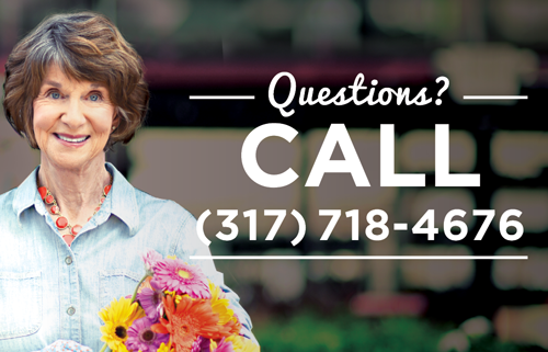 Questions? Call (317) 718-4676