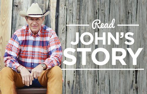 Read John's Story