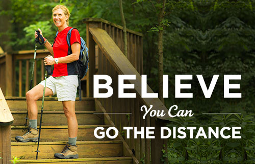 BELIEVE You Can Go the Distance
