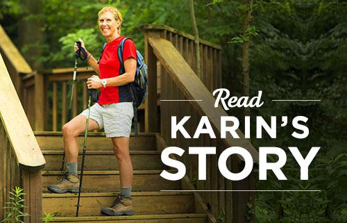 Read Karin's BELIEVE Story