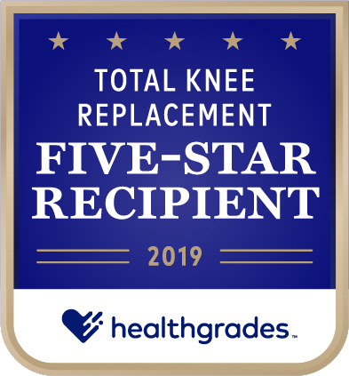 Total Knee Replacement: 5-Star Recipient 2019