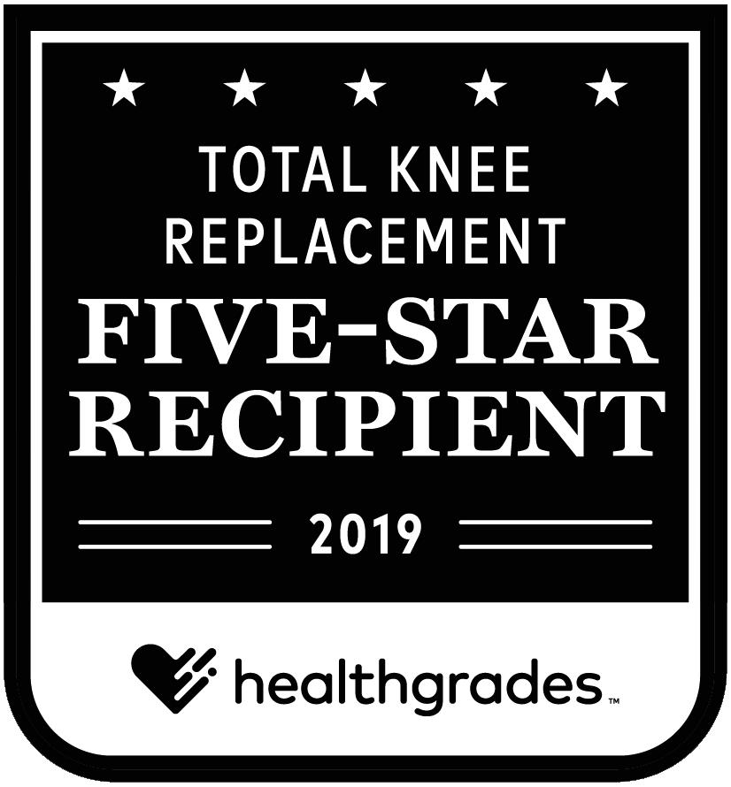 Total Knee Replacement: 5-Star Recipient 2019