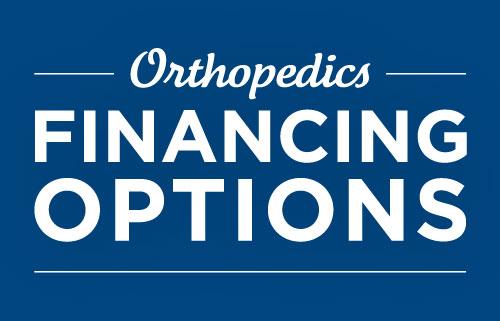 Orthopedics Financing Options