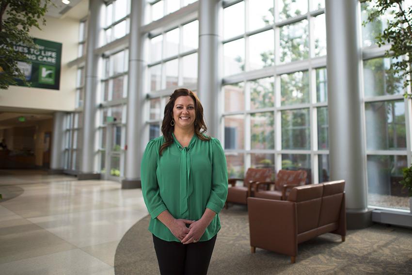 Nurse Practitioner Megan Fish, Westside Physicians for Women