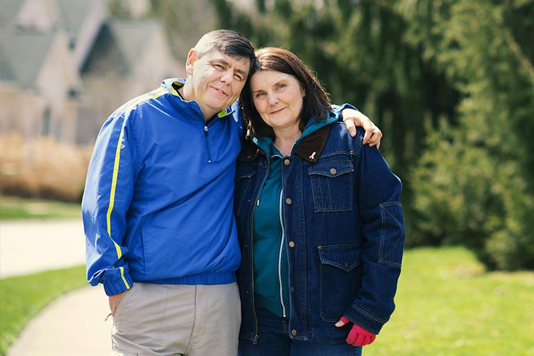 Senga with her husband, Billy